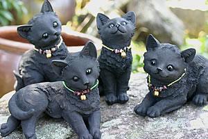 炭のネコ四姉妹